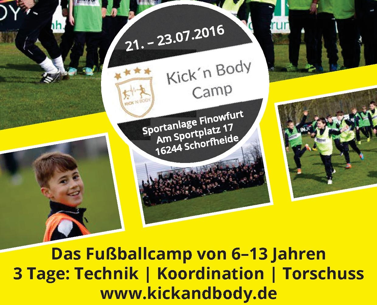 Kick´n Body - Camp 2016